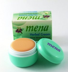Mena Extra White Mineral Whitening Herbal Cream